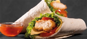 Foto Chicken wrap